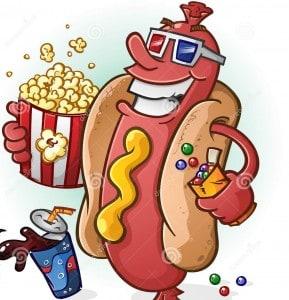 Hot Dogs-MovieTheaterPrices