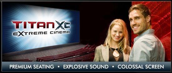 Reading Cinemas NZ Titan XC Movie