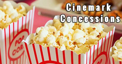 Cinemark Concessions Info