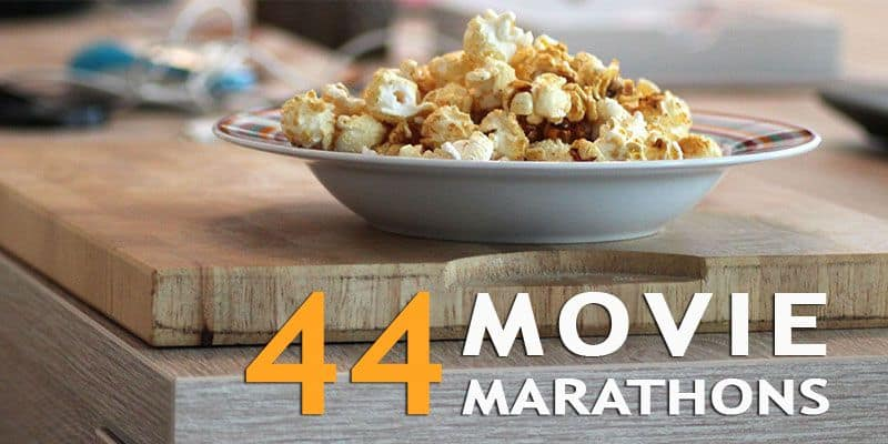 43+ Awesome Movie Marathons