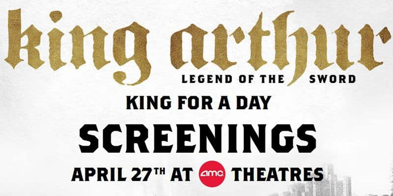 AMC Free King Arthur Screening