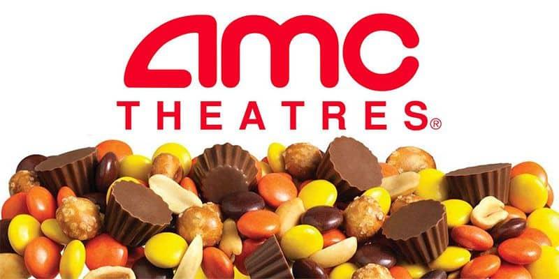 AMC   Reeces Snack Mix $3