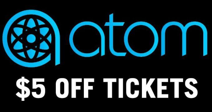 ATOM Tickets   $5 Off Movie Tickets