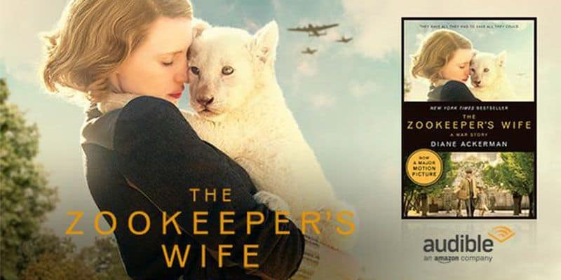 Fandango Free Audio Book Zookeepers Wife Promotion