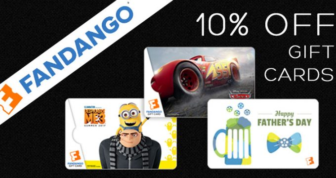 Fathers Day Movie Gift Cards
