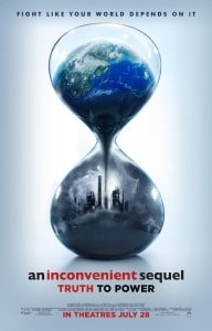 An Inconveniet Sequal Truth to Power Movie Poster