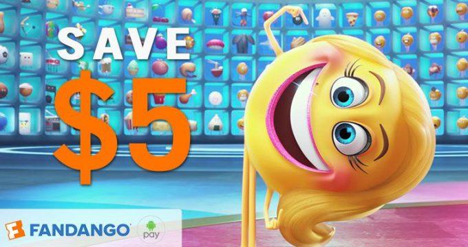 Movie Deal   $5 Off Ticket w Fandango