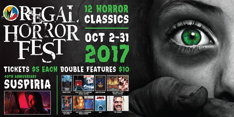 Regal   Oct 2017   Horror Movie Special Deal