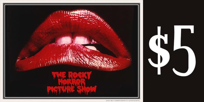 rocky horror show movie deal AMC
