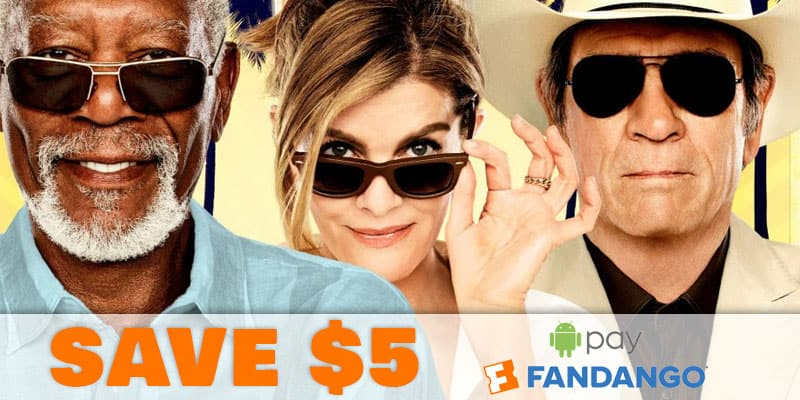 Save $5 Movie Tickets Fandango Google Pay