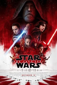 Star Wars Last Jedi Movie Poster