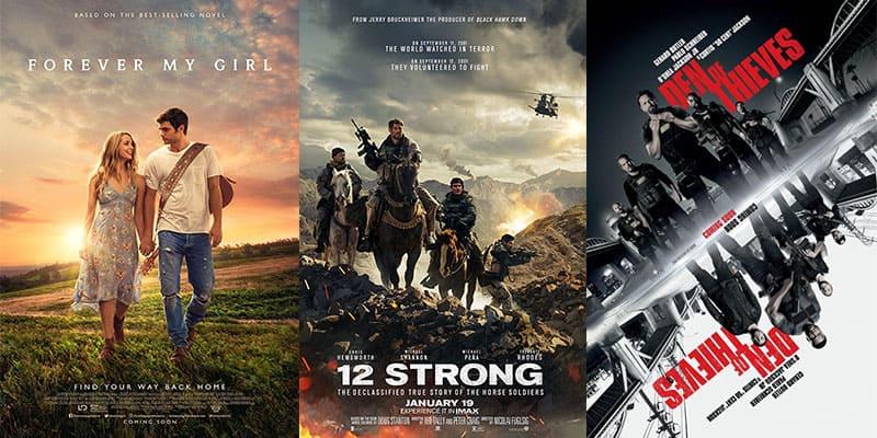 New Movies   Week 3   January 19th