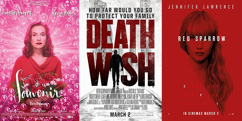 New Movies   Week 9   March 2nd