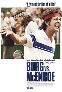Borg vs McEnroe 2018 Movie Poster