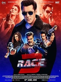 Race 3 Movie Poster 2018