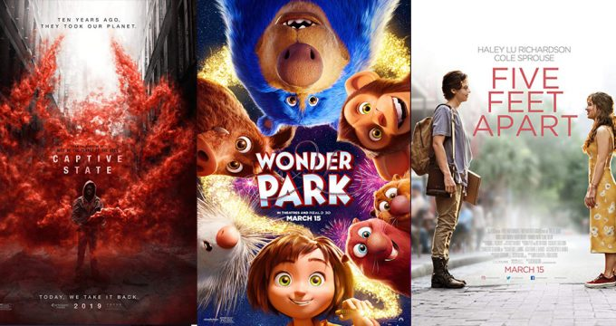 Movies Releasing March 15