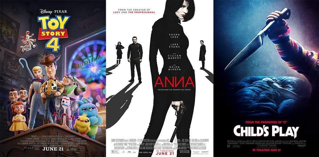 Movies Opening June 21