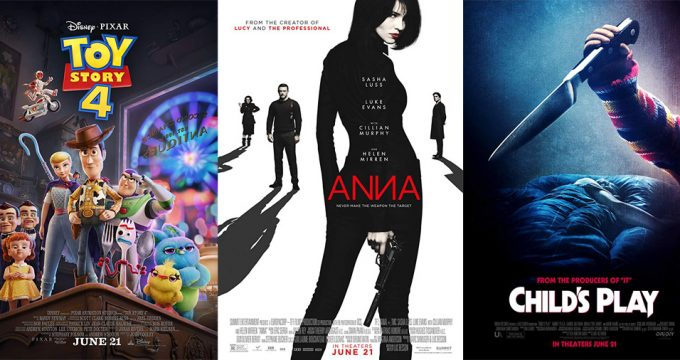Movies Opening June 21