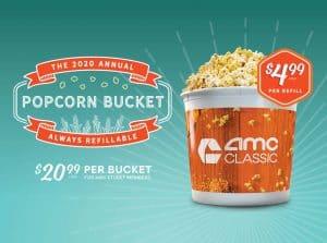 AMC 2020 Popcorn Bucket