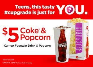 AMC Teens Concession Deal