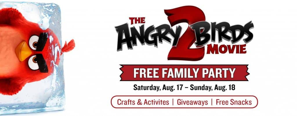Angry Birds 2 Party   Marcus Theatres