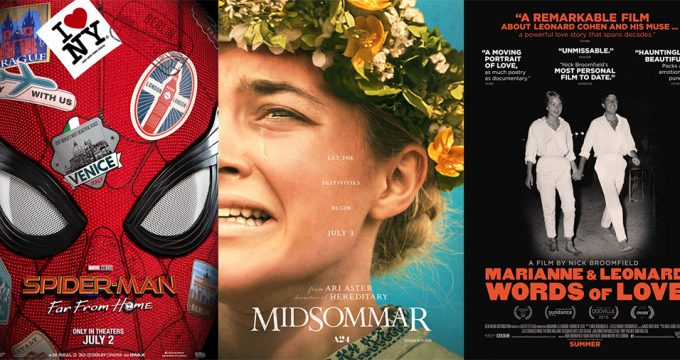 Movies Opening July 2