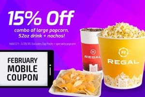 Regal Feb Coupon