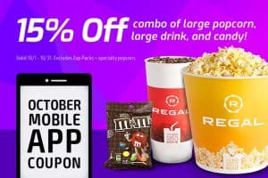 Regal Oct App Deal