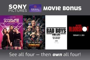 Regal Sony Movie Bonus