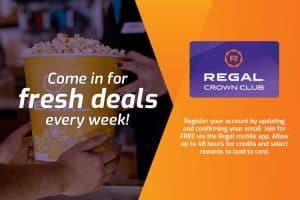 Regal weekly deals