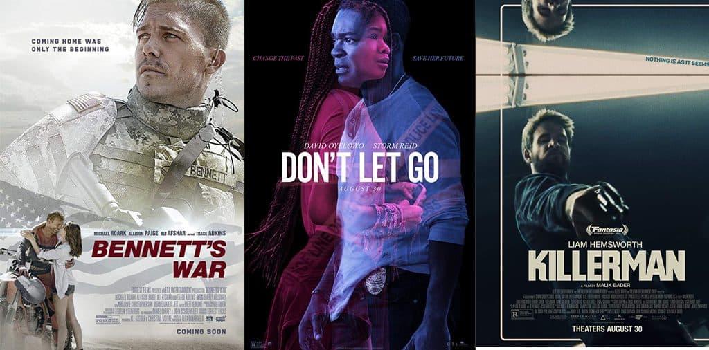 Movies Opening Aug 30
