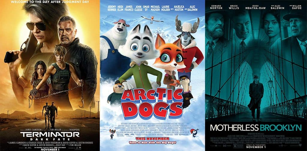 Movies Opening Nov 1