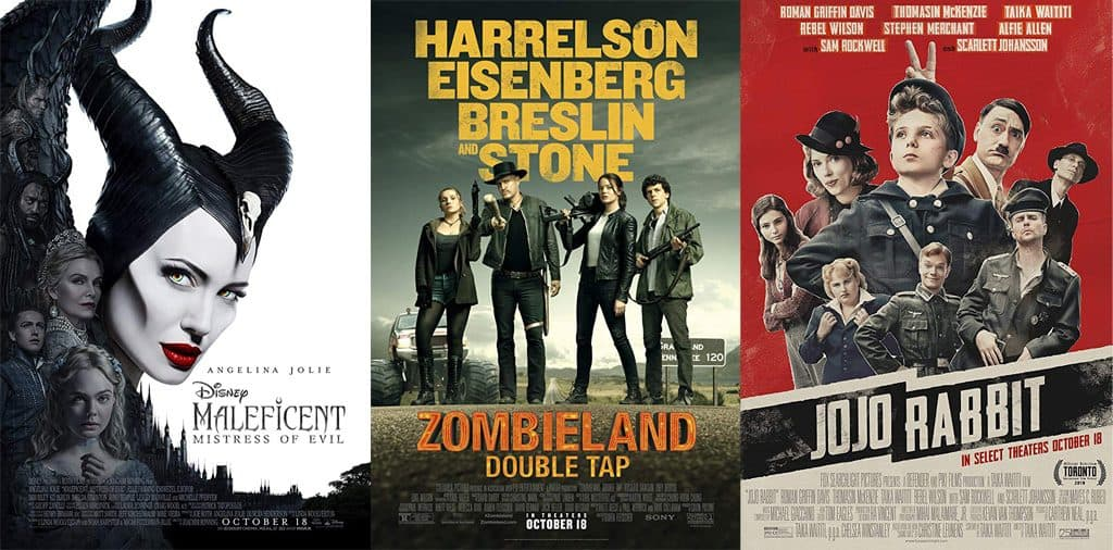 Movies Opening Oct 18